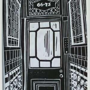 NW5 Linocut Print
