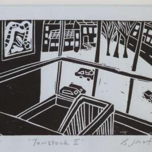 Tavistock 2 Linocut Print