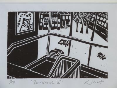 Tavistock II. Billie Josef LInocut Print