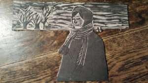 lino printing plate