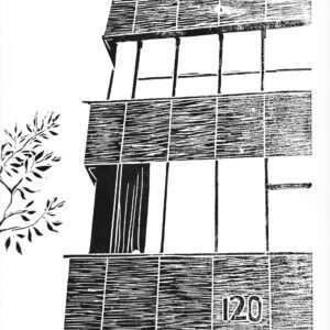 Tavistock 2017 Linocut Print